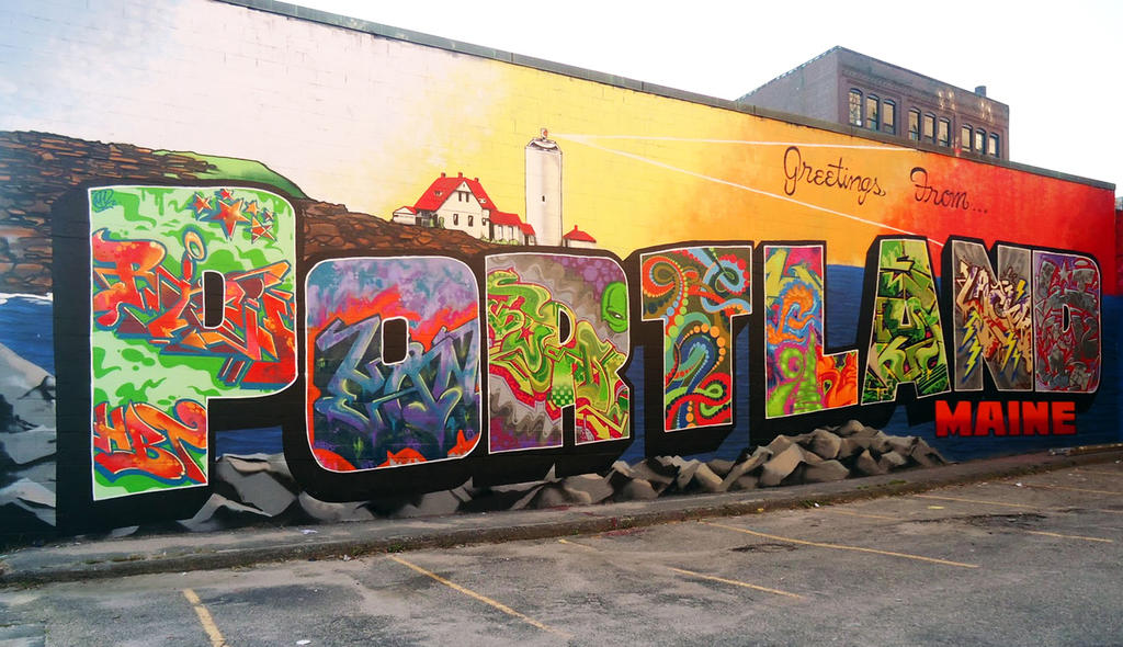 Art Calendar Maine : Coming soon greetings from westbrook mural keep me
