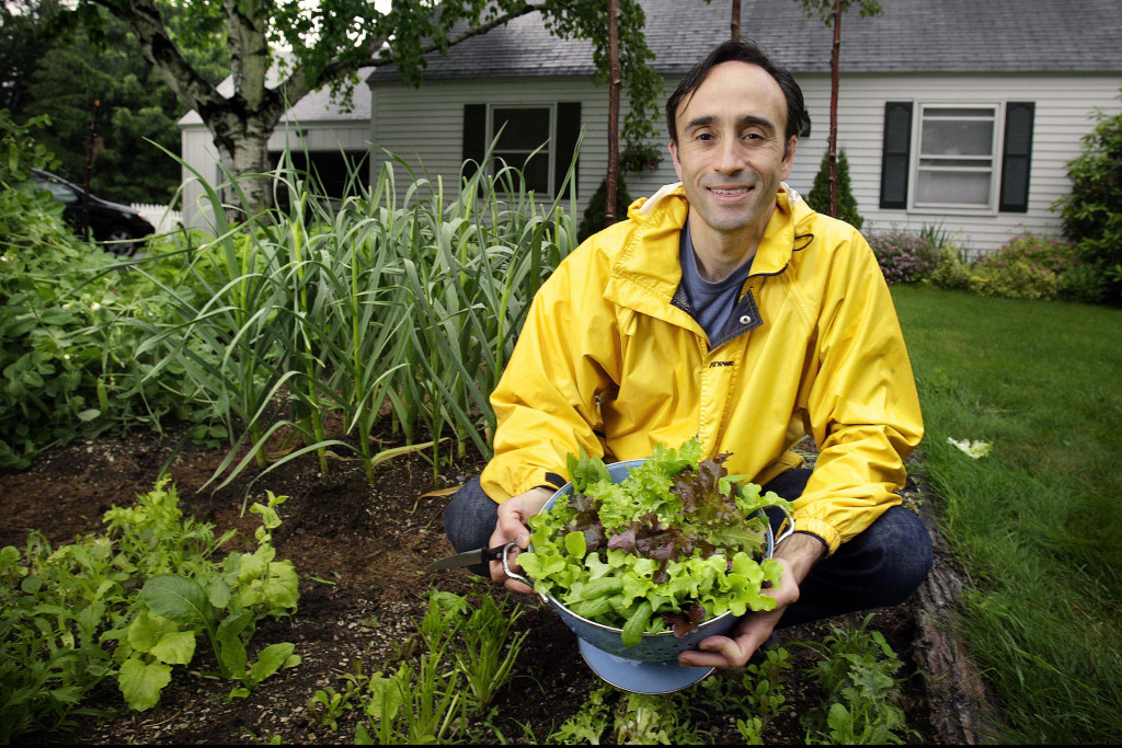 Scarborough\'s Roger Doiron hopes White House garden he helped ...