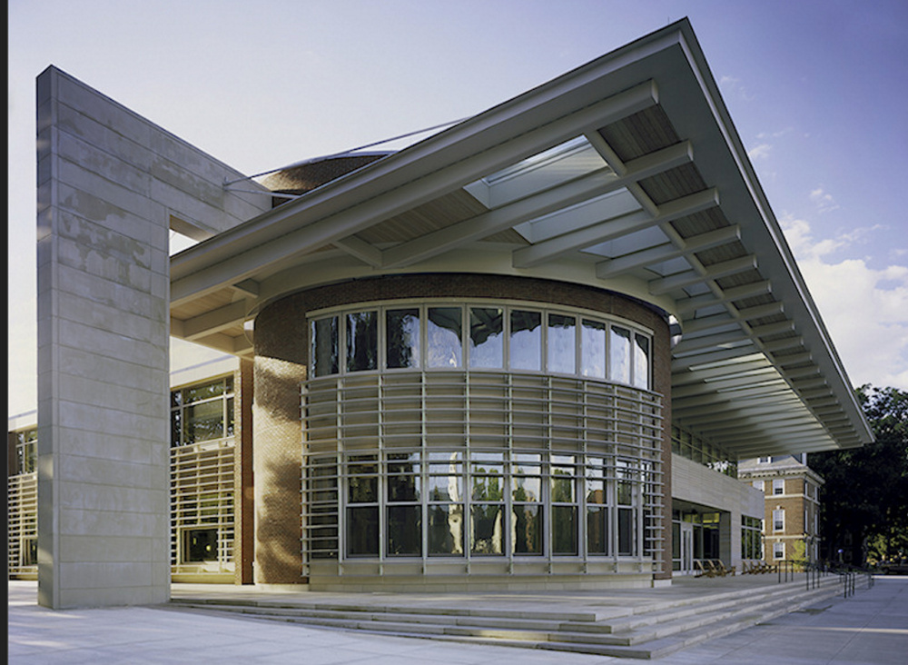 The student center at Williams College in Williamstown, Mass., was built using Duratherm windows and doors.