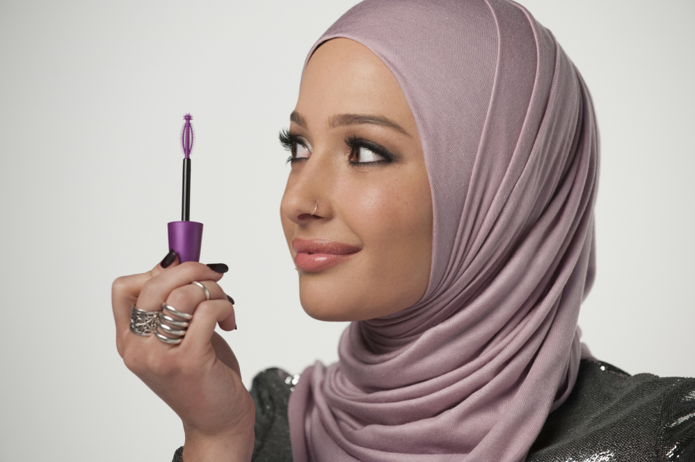 Beauty blogger Nura Afia, wearing a hijab, is featured in a new CoverGirl advertising campaign.