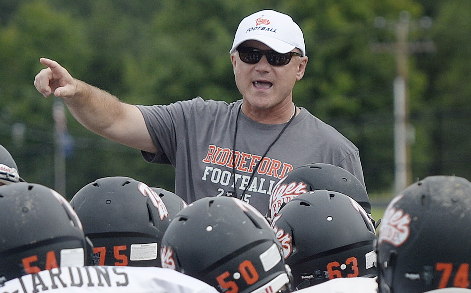 Biddeford Coach Brian Curit has plenty of respect for Kennebunk and its coach, Joe Rafferty.