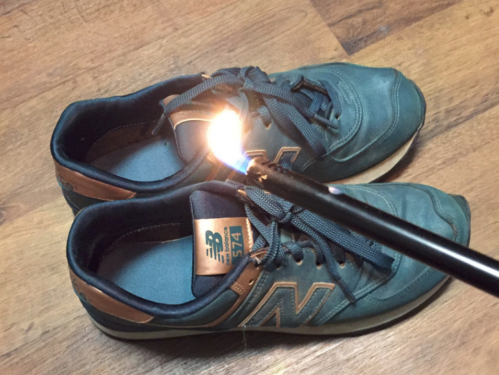 This image is one of  several posted on social media denouncing New Balance after a company spokesman made a statement blasting President Barack Obama and in support of President-elect Donald Trump.
