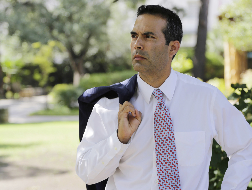 Texas Land Commissioner George P. Bush,  the only member of the Bush family who holds elective office, says he isn't worried about his political future being threatened by a rejection of dynasty politics that helped doom Hillary Clinton. Bush campaigned for Donald Trump despite his family's well-publicized shunning of the billionaire businessman.