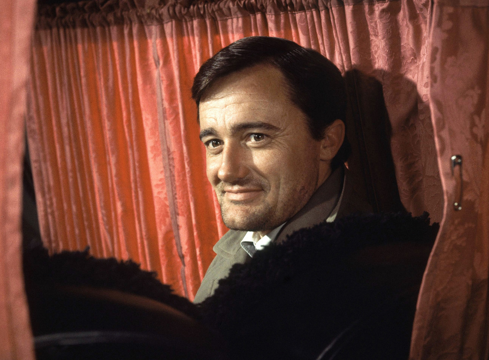 """Robert Vaughn portrayed the debonair crime-fighter of television's """"The Man From U.N.C.L.E."""" in the 1960s."""