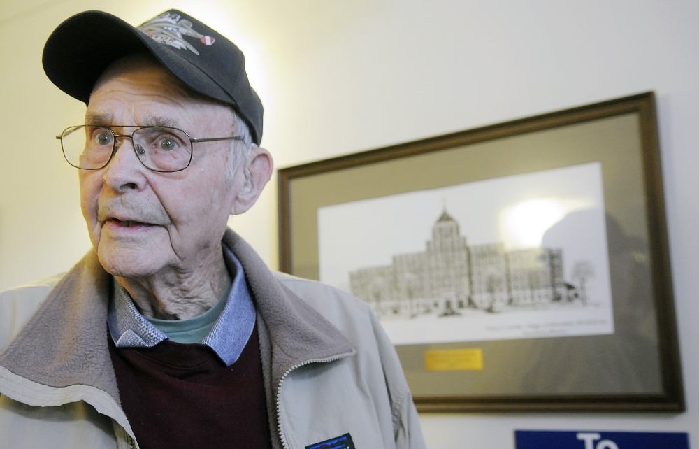 Ralph Bond, a 93-year-old Jefferson resident, voted for Trump, he said, because he hopes the president-elect can reduce the national debt and make VA care more efficient.