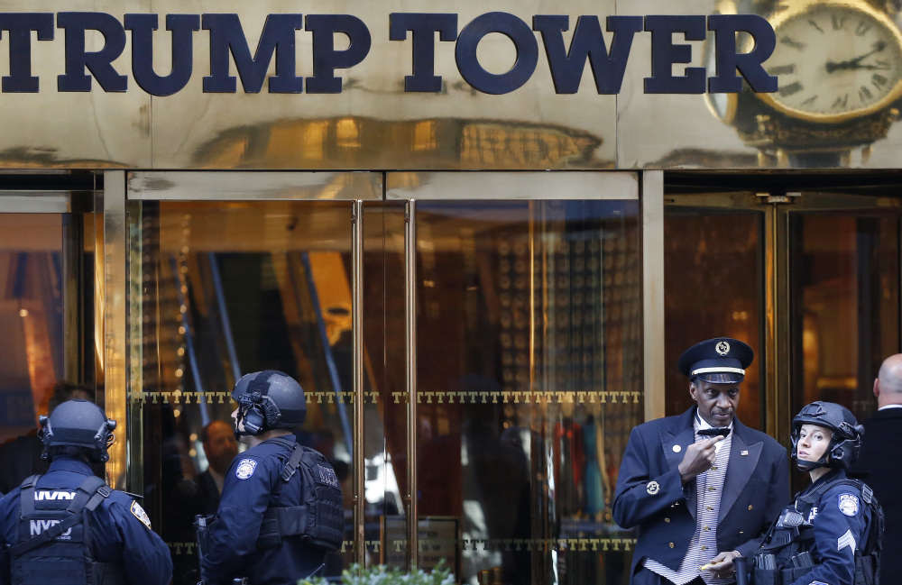 After his election, President-elect Trump spent most of his time at Trump Tower in Manhattan. He hasn't been back since the inauguration.