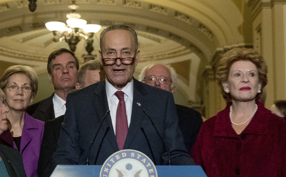 Sen. Chuck Schumer, D-N.Y., locked down the votes to be minority leader shortly after Harry Reid announced his upcoming retirement.