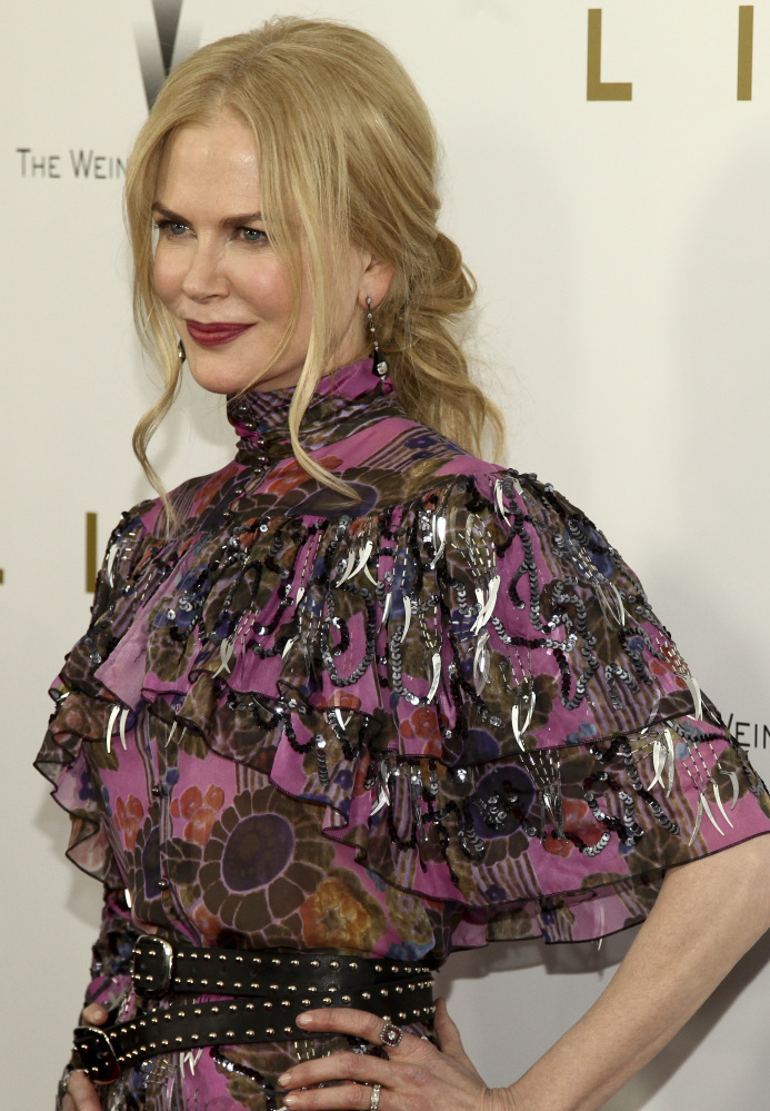 Actress Nicole Kidman attends the premiere of