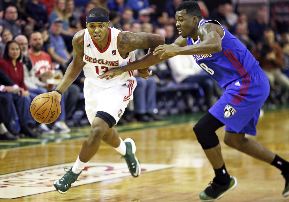 Marcus Georges-Hunt had a triple-double as the Red Claws won their home opener, beating the Long Island Nets 114-98 on Friday night. Georges-Hunt finished with 22 points, 15 assists and 10 rebounds.