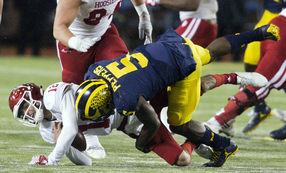 Linebacker Jabrill Peppers can do it all for Michigan. He may be asked to pay special attention to running back Curtis Samuel, one of the biggest threats for Ohio State.