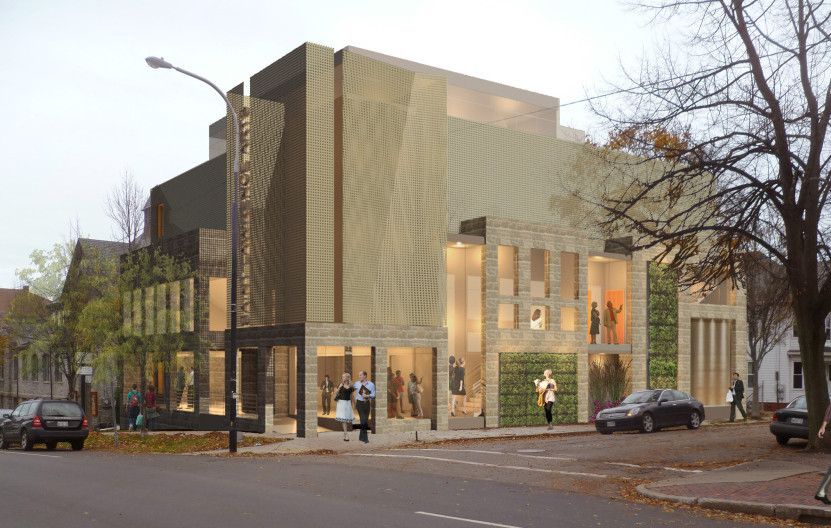arts group files plans for new performance hall in portland