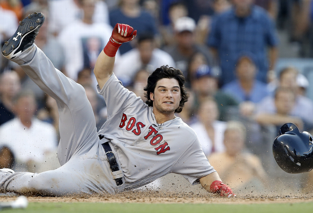 Andrew Benintendi certainly kicked up a cloud of dust with his impressive debut with Boston last season. He is still considered a prospect because he actually played only 34 games with the Red Sox. And remember, on Opening Day in April he'll only be 22 years old.