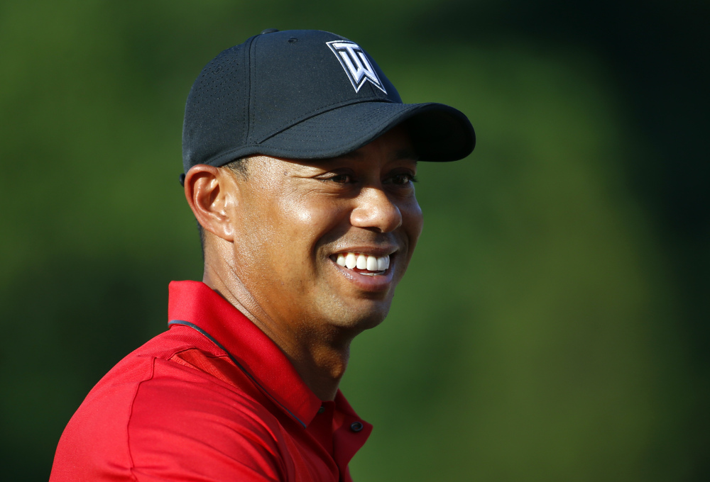 """Tiger Woods, who last played Aug. 23, 2015, is in the Hero World Challenge in Nassau, Bahamas, this week. """"I'm excited to see him play,"""" said Ryder Cup captain Davis Love III."""