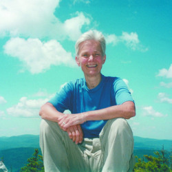 """Phyllis Austin, an acclaimed environmental writer who wrote """"Wilderness Partners,"""" a book about Buzz Caverly and Baxter Sate Park, died Monday. Photo courtesy Jym St. Pierre"""