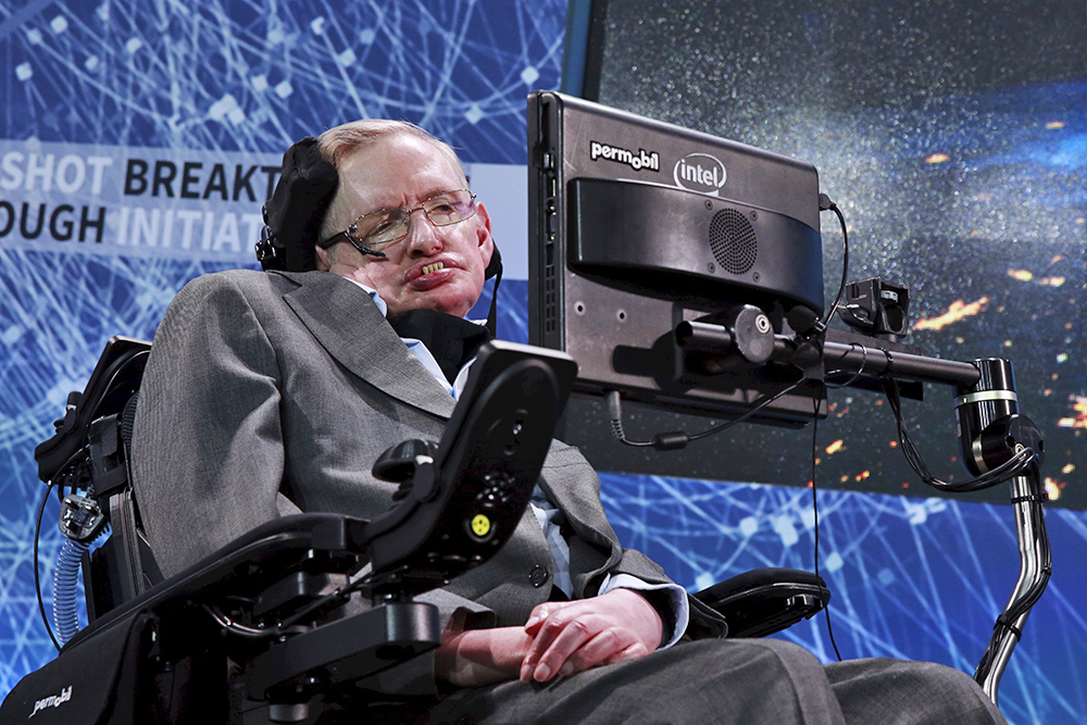 Physicist Stephen Hawking: