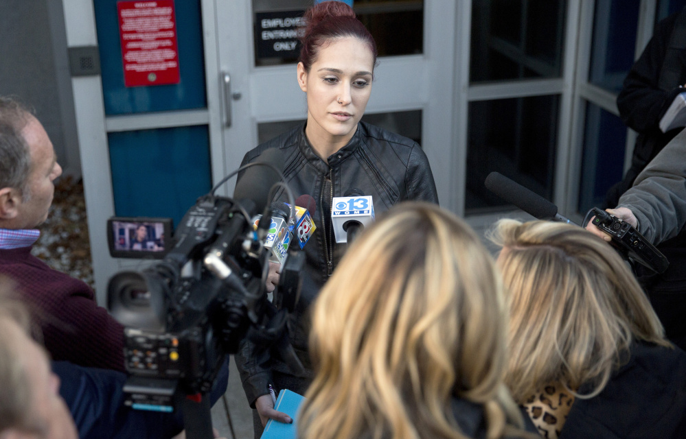 Ashley Summers, whose husband died as a result of burns suffered in the 2014 fire, said she wished landlord Gregory Nisbet had been given more than three months in jail.