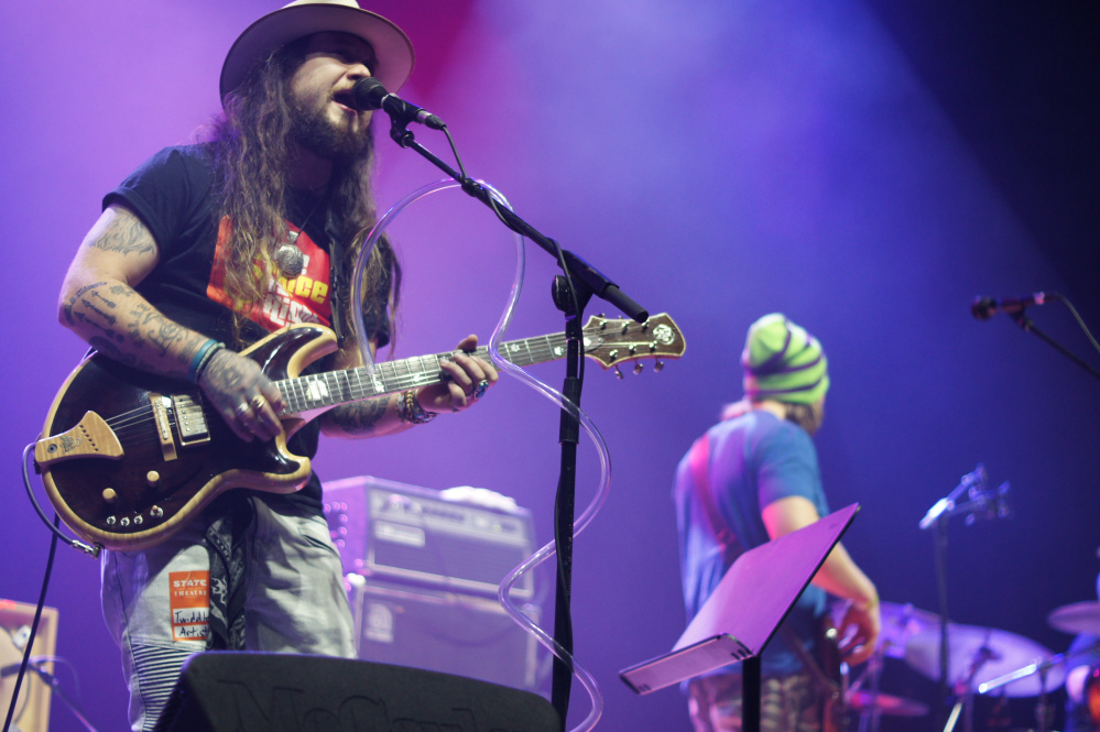 Twiddle performs at the State Theatre on Nov. 23.