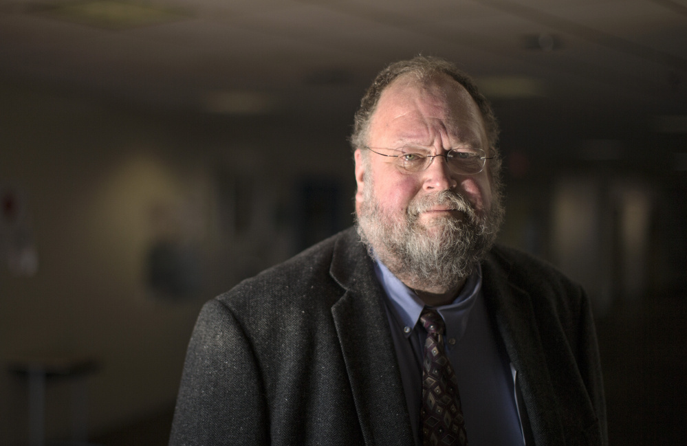 Robert Hasson, the acting head of Maine's Department of Education.
