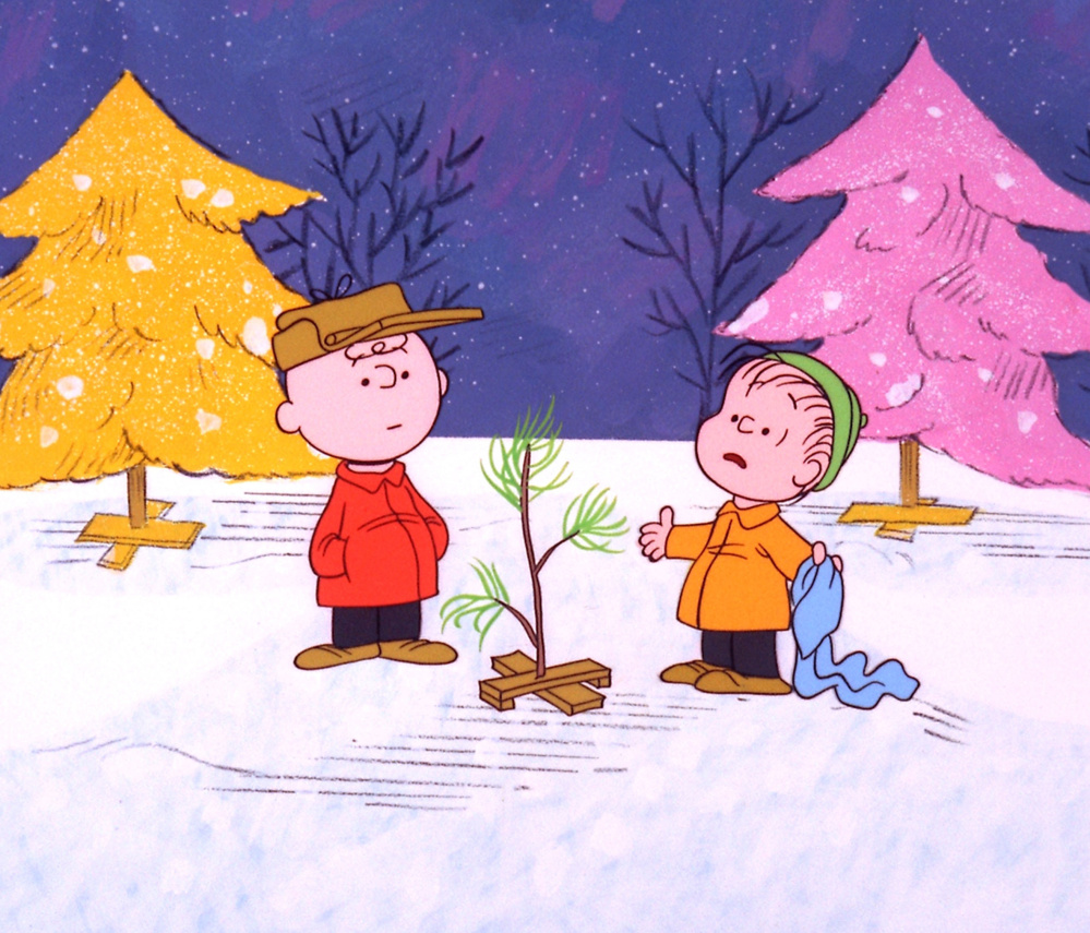 "The poster references the most overtly Christian passage from ""A Charlie Brown Christmas."""