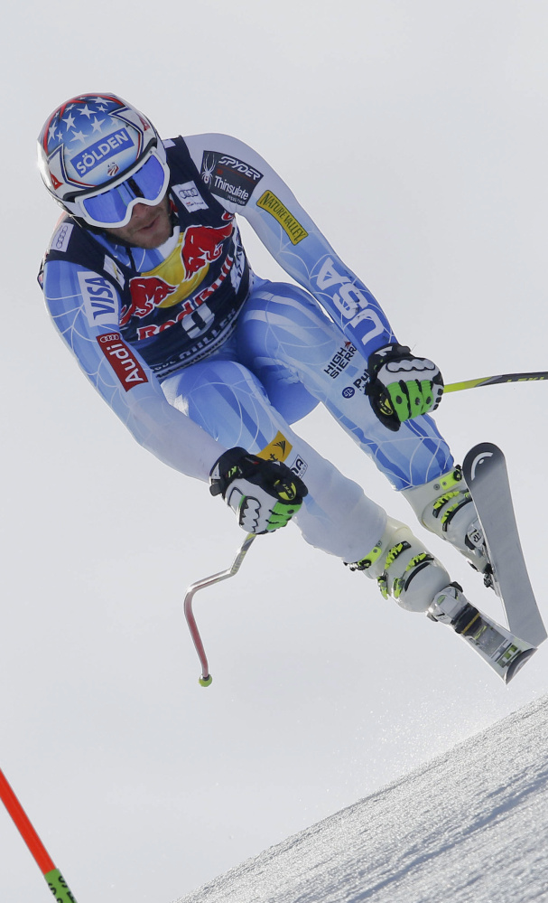 Bode Miller last raced in February 2015, when he severed a hamstring tendon. He's now training in Colorado, hoping to qualify for the world championships.