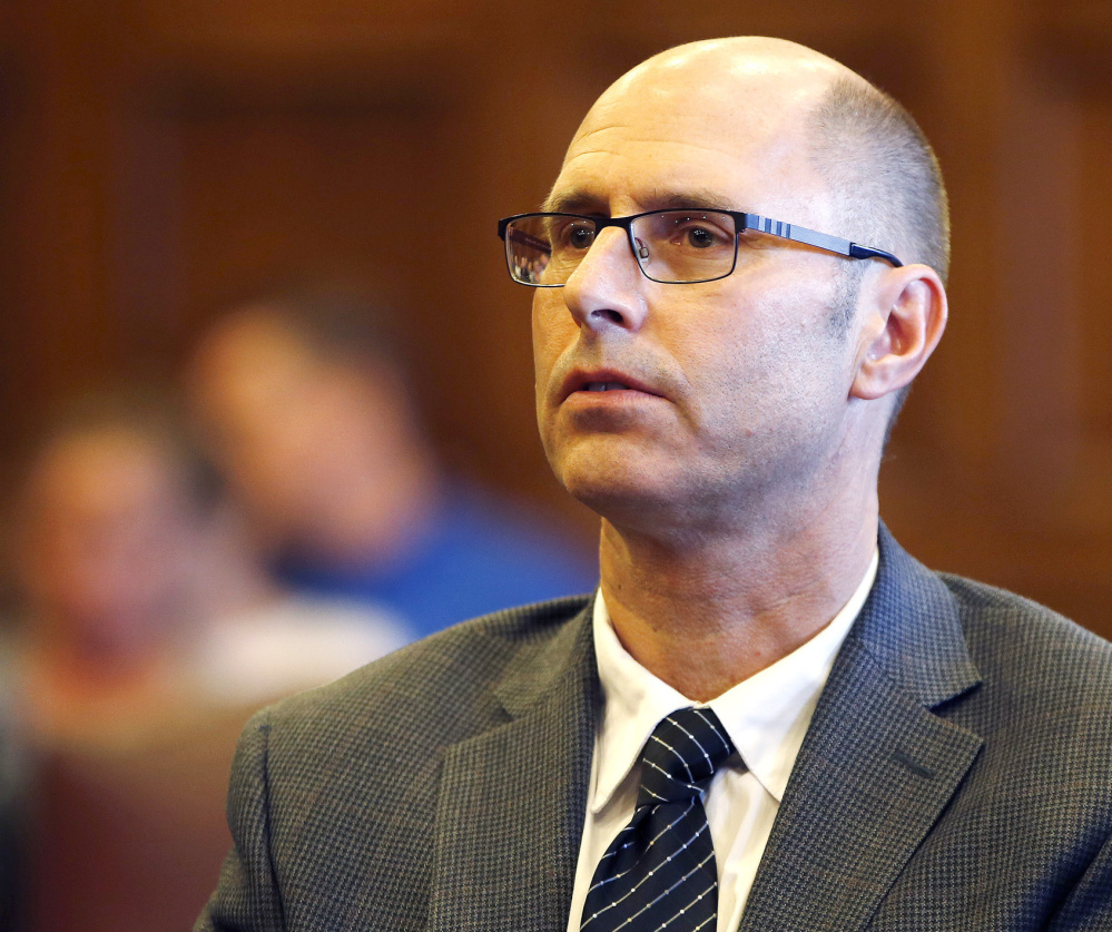 Facing a 90-day jail sentence for a code violation in an apartment building where a fire killed six people, Portland landlord Gregory Nisbet is arguing in an appeal to the Maine Supreme Judicial Court that the state's fire code is unconstitutionally vague.