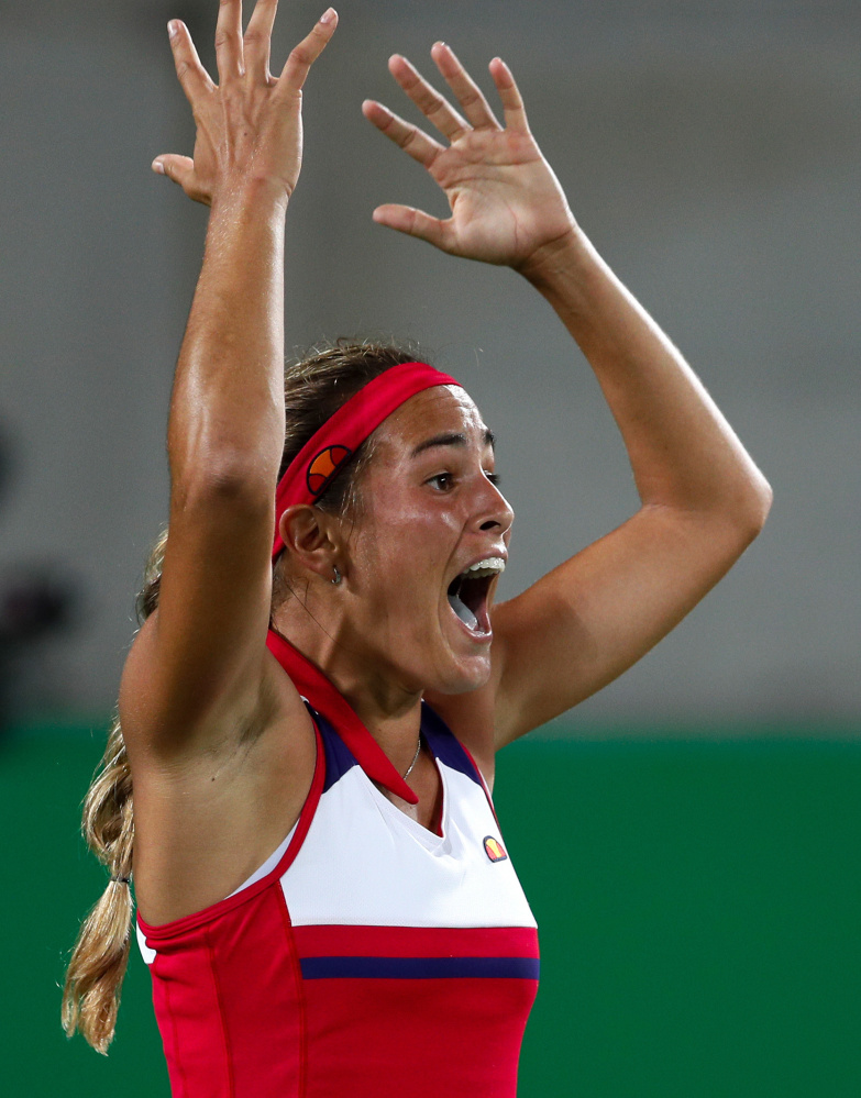 Monica Puig of Puerto Rico was unseeded entering the women's tennis competition  at the 2016 Olympics in Rio de Janeiro. But by the time she was done, Puig won the gold medal, which was the first in any sport for Puerto Rico.