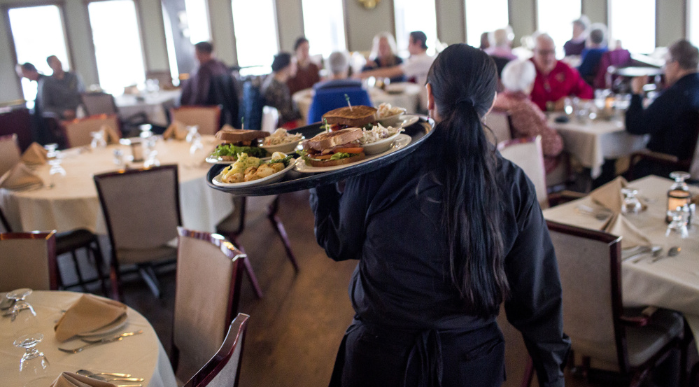 People who receive as little as $30 a month in tips can be paid $3.75 per hour by their employer. That is what a majority of Mainers on Election Day said was unfair, and lawmakers should be paying attention.