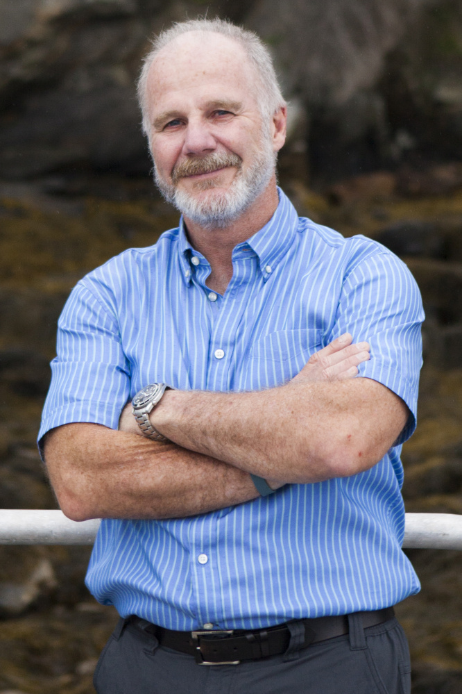 Oceanographer Graham Shimmield focused much of his work on climate change.