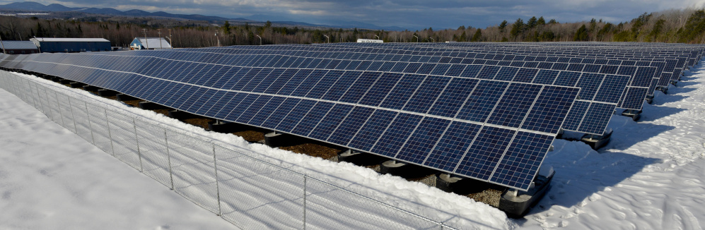 The Madison Electric Works solar farm consists of about 26,000 panels and occupies nearly 22 acres in the Madison Business Gateway. The project, which cost $10 million to install, is expected to produce about 5 megawatts of power.