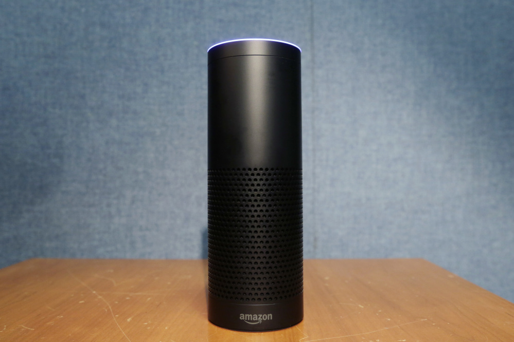 "Amazon's Echo speaker responds to voices, but the company is cautious about ""overbroad"" legal requests."