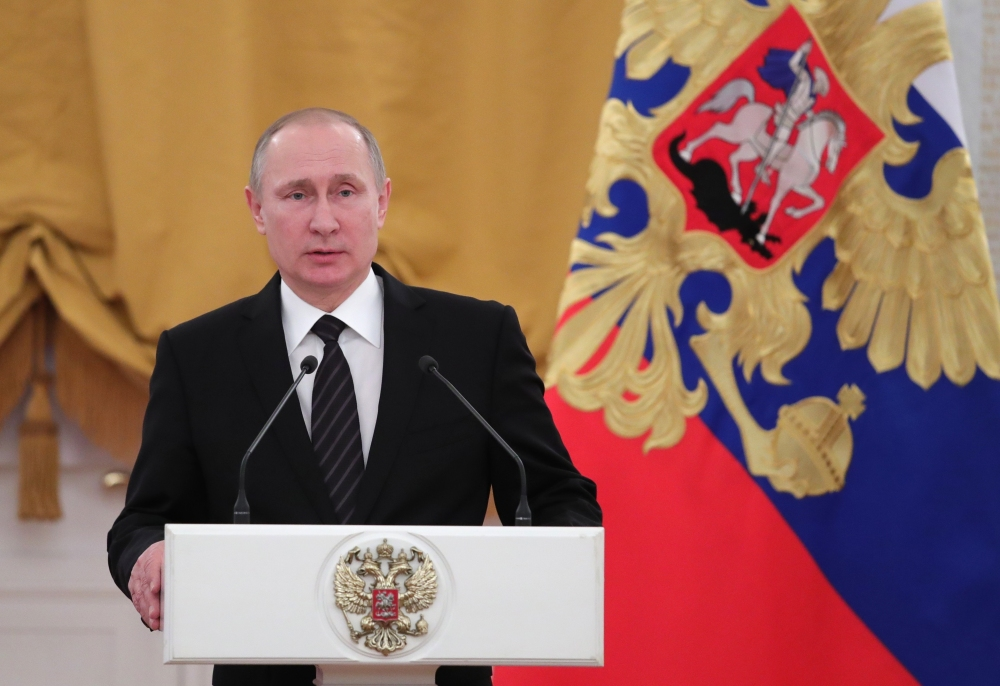 "Russian President Vladimir Putin said Friday that Moscow would not eject American diplomats in response to what he described as ""provocation aimed at further undermining Russian-American relations."""