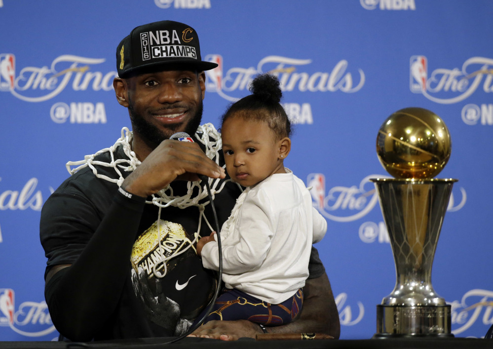 For LeBron James of the Cleveland Cavaliers, 2016 brought a magical run, including an NBA title in June, the first major sports championship for Cleveland since 1954.
