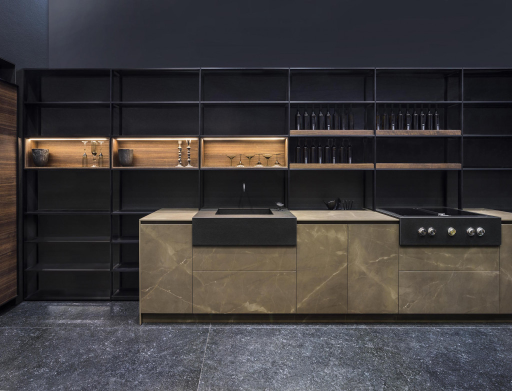 A striking example of a kitchen that makes a statement.