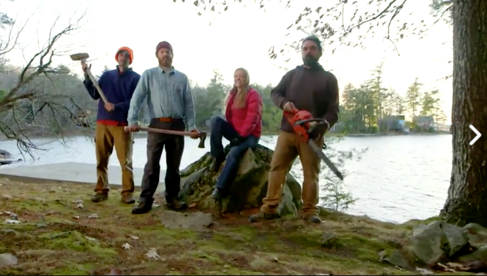 This New Reality TV Show Might Make You Pine For A Cabin In The Maine Woods