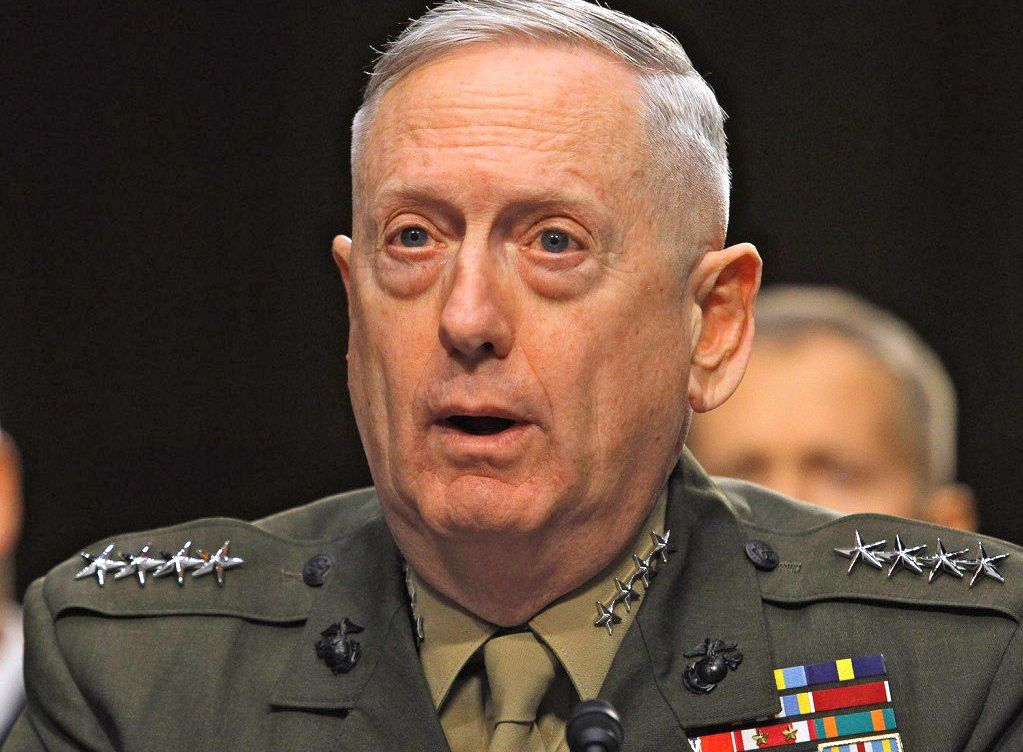 One of two envelopes suspected of containing ricin was addressed to Defense Secretary Jim Mattis.