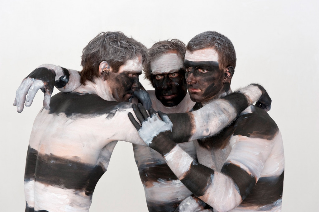 From Paul Oberst's Banded Men photography series.