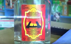 The sale of lotions and tinctures containing alcohol has risen in recent years as Russia has plunged into recession. Poisonings caused by cheap surrogate alcohol are a regular occurrence. euronews image