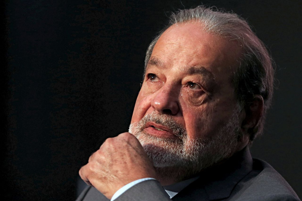Carlos Slim takes part in a business forum in Mexico City on Dec. 1, 2016. <em>Reuters/Carlos Jasso</em>