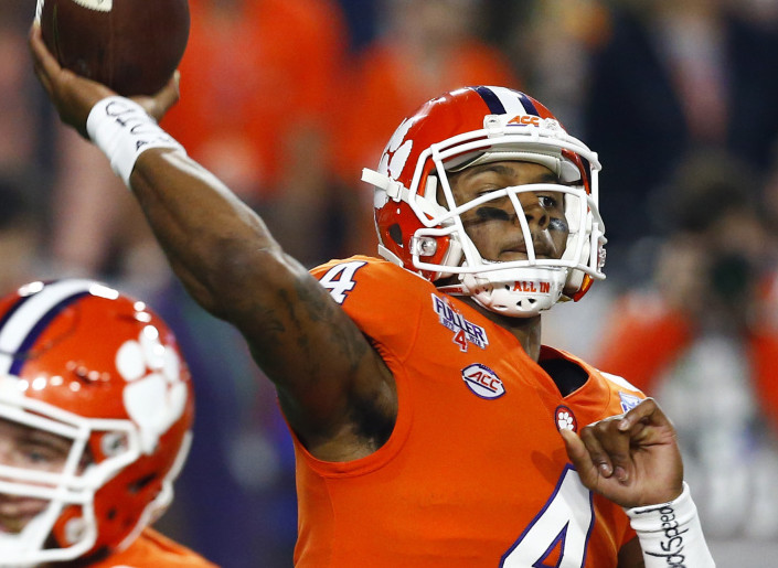 Deshaun Watson and the Clemson Tigers are back in the national championship game and will face a familiar opponent for the title when they meet Alabama.