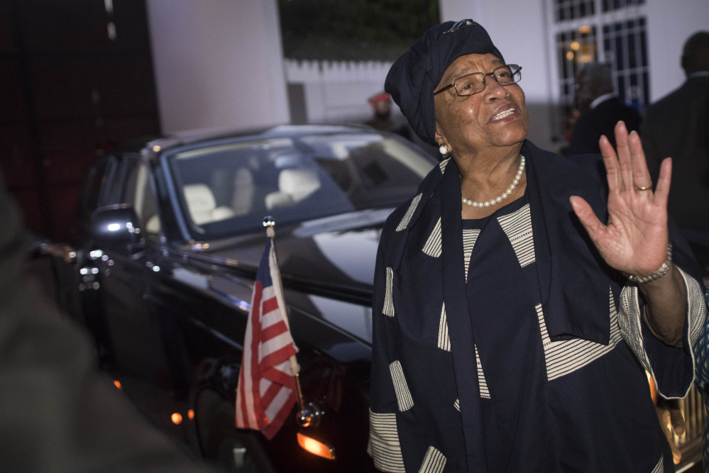 Liberia President Ellen Johnson Sirleaf, chair of the West African regional block, hopes democracy prevails in Gambia.