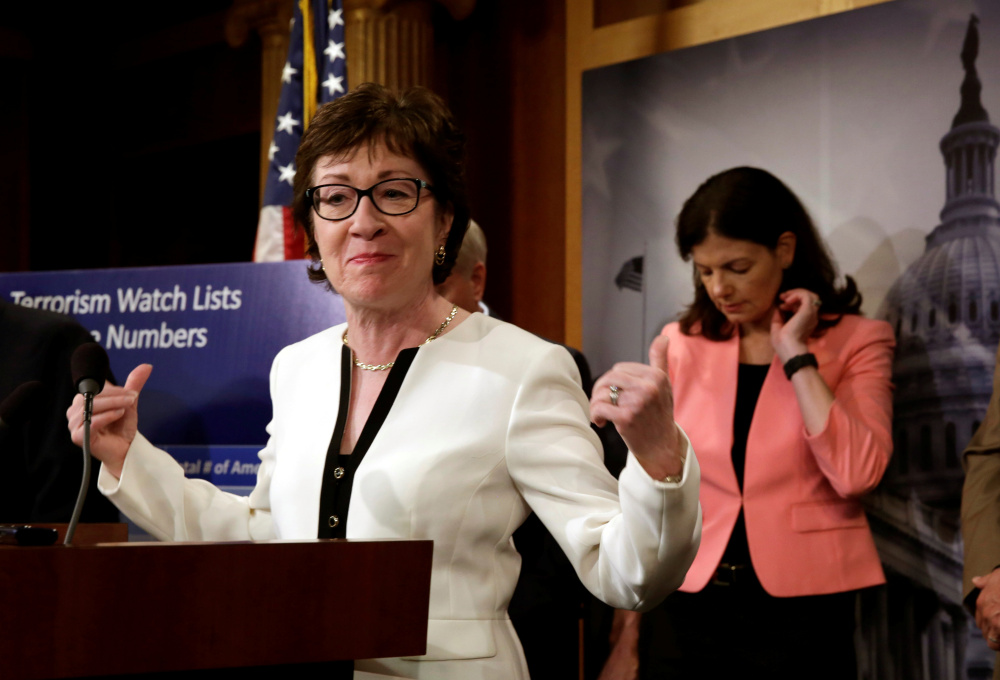 Sen. Susan Collins, a moderate Republican from Maine, calls conservative Sen. Jeff Sessions of Alabama a leader of integrity. Attacks on his past are unfair, she says.