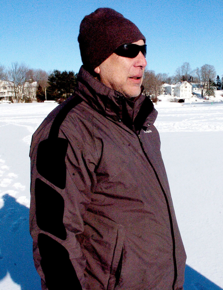 Ice fisherman Tony Noonan of Waterville says the lack of local knowledge about thin ice may be a factor in the death of Richard Dumont.