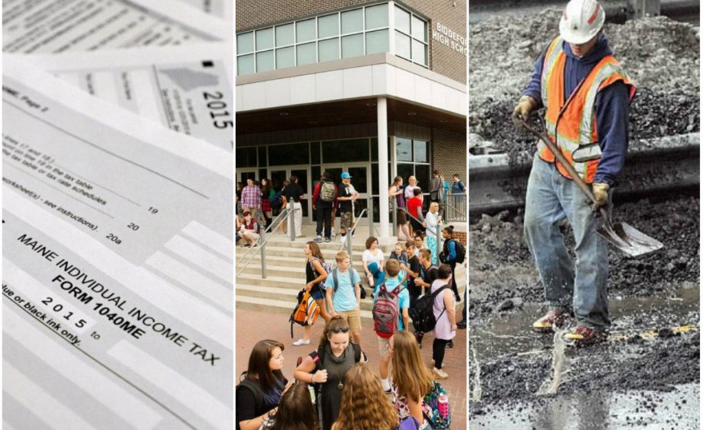 Taxes, education and infrastructure would be part of any budget proposal, but Gov. LePage's latest rehash of unsuccessful ideas shows a lack of forward thinking.