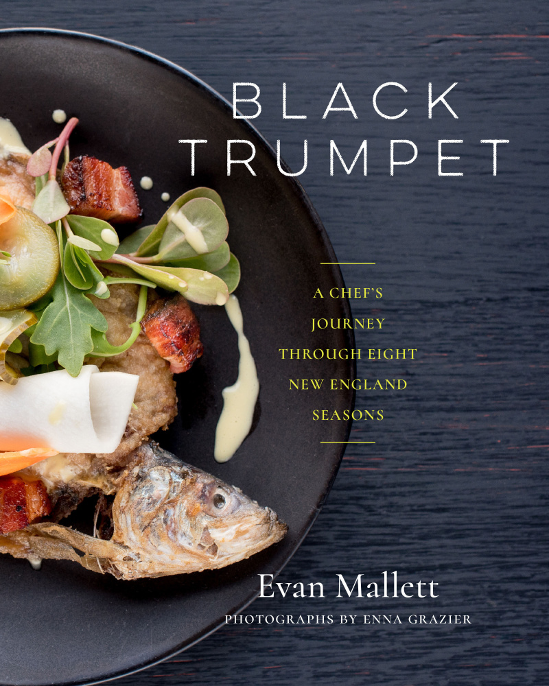Chef Evan Mallett's cookbook was published last year.