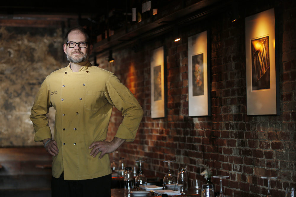 Evan Mallett, chef-owner of the Black Trumpet restaurant in Portsmouth, N.H., will open Ondine in Belfast on Friday.