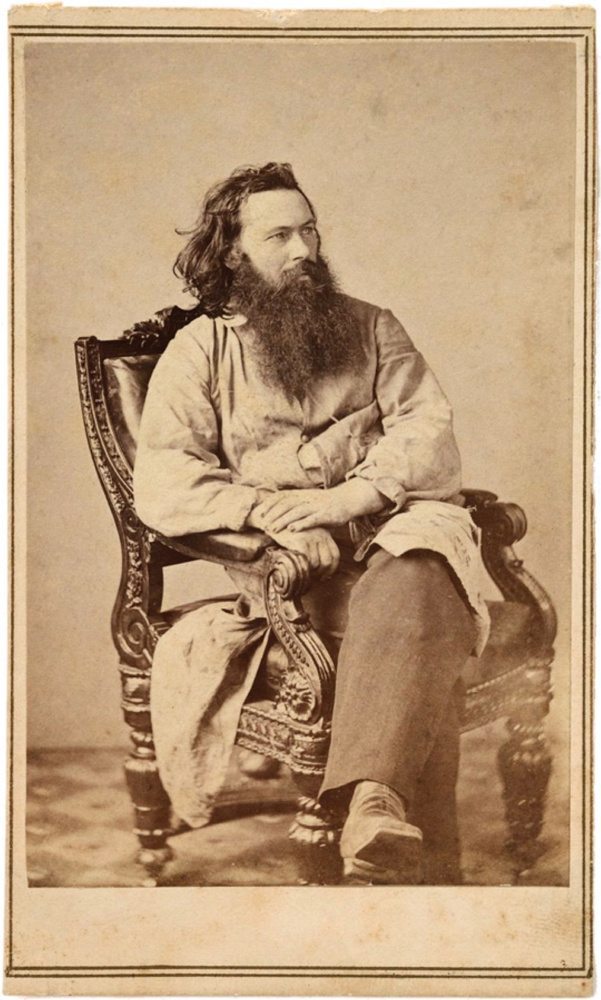 Alexander Gardner, shown in 1863, was close to Lincoln and took his photo more than any other photographer, said Frank Goodyear, co-director of the Bowdoin College art museum.