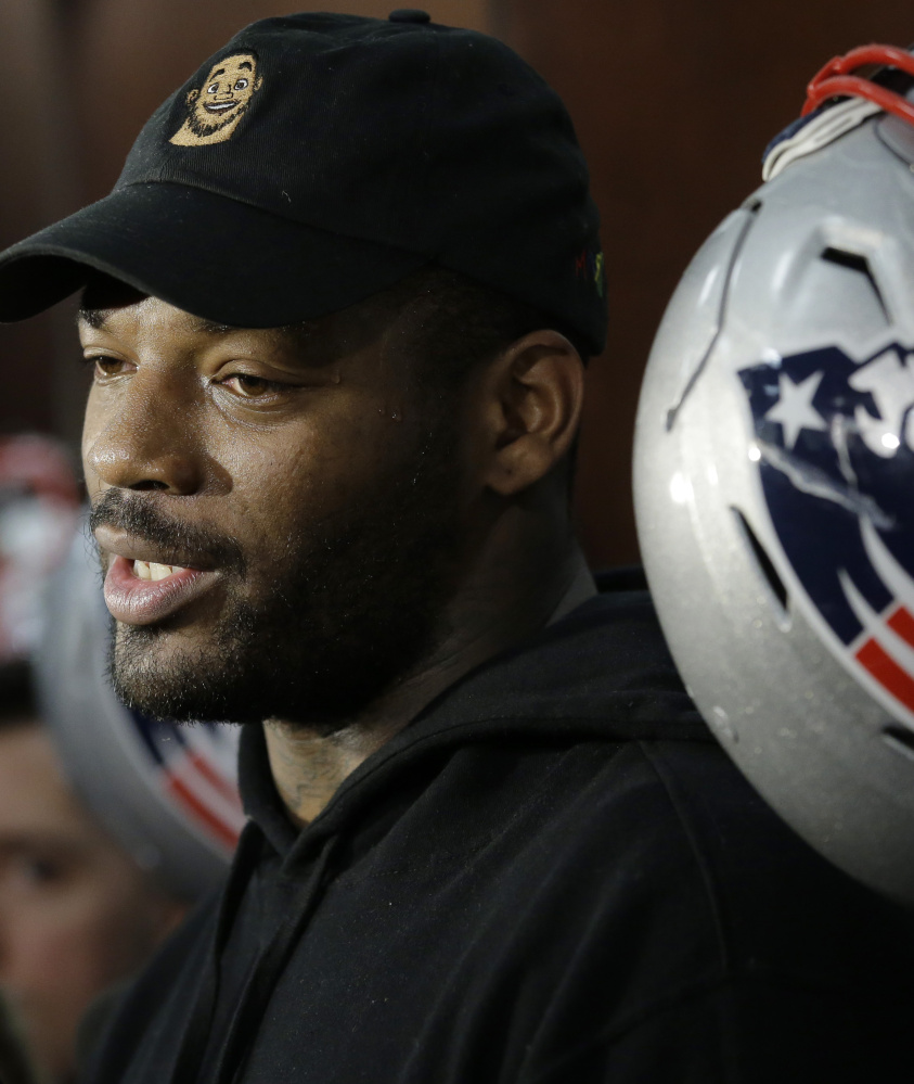 You never know what Martellus Bennett is going to say in the Patriots' locker room. Just never know. But it's always worth hearing.