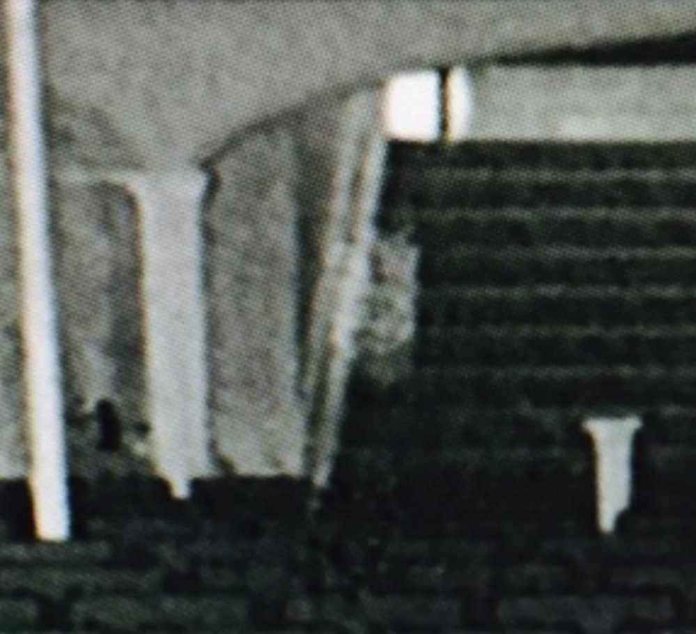 EVP Paranormal of Maine says it shot this infrared video footage at Biddeford City Theater in December, and it appears to show the ghost of a woman on the back stairs.