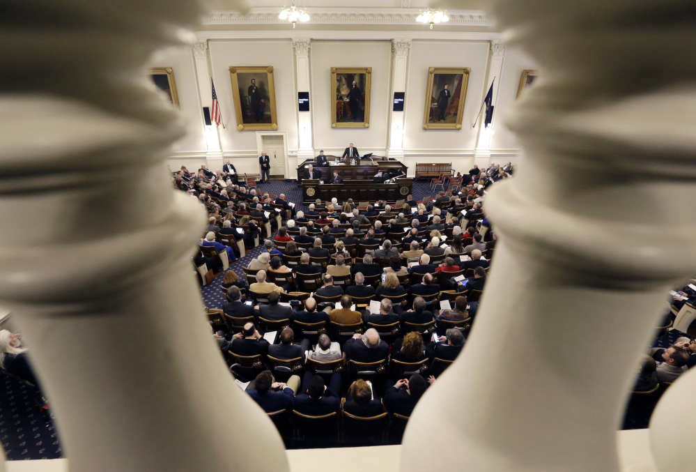 With New Hampshire lawmakers allowed to carry concealed weapons, some feel the Statehouse is under the gun.