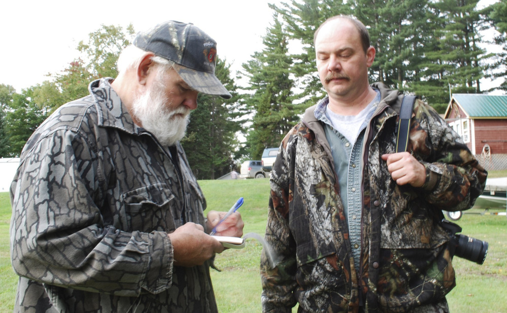 Wayne Bosowicz developed a loyal following as a bear hunting guide, earning the trust of hunters who returned to his camps year after year in Sebec or at Pittston Farm, north of Moosehead Lake.